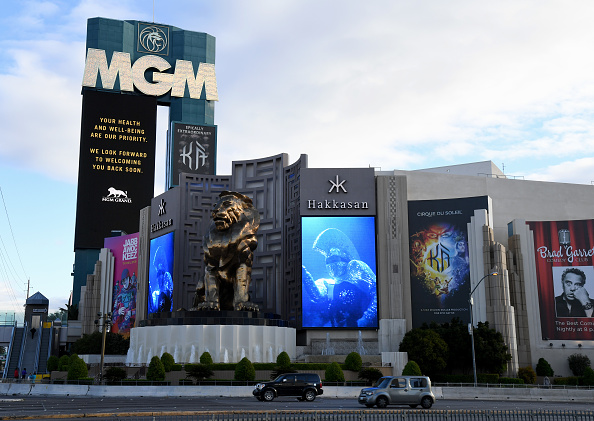 Tourist Resort「Las Vegas Casinos To Close Their Doors In Response To Coronavirus Pandemic」:写真・画像(18)[壁紙.com]