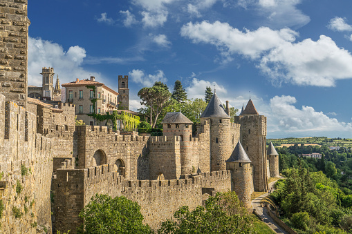 Gothic Style「The fortified city of Carcassonne」:スマホ壁紙(4)