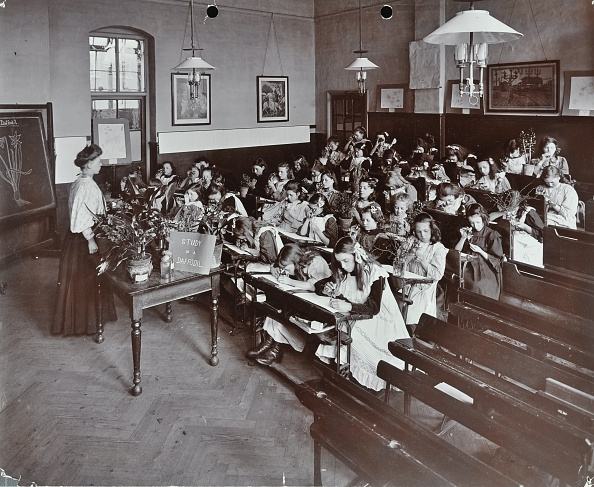 Biology「Nature Lesson, Albion Street Girls School, Rotherhithe, London, 1908. Artist: Unknown.」:写真・画像(14)[壁紙.com]