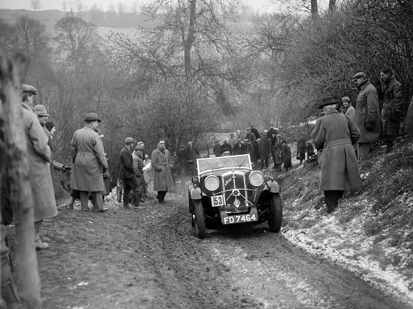 Country Road「Wolseley Jensen Hornet Special of TK Crawford at the Sunbac Colmore Trial, Gloucestershire, 1933」:写真・画像(9)[壁紙.com]