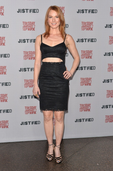 "Alicia Witt「Premiere Screening Of FX's ""Justified"" Season 5 - Arrivals」:写真・画像(13)[壁紙.com]"