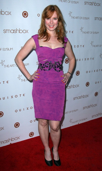 "Alicia Witt「The Art Of Elysium Hosts 5th Annual ""Pieces Of Heaven"" Art Auction - Arrivals」:写真・画像(6)[壁紙.com]"