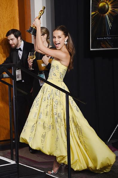 アカデミー賞「88th Annual Academy Awards - Press Room」:写真・画像(17)[壁紙.com]