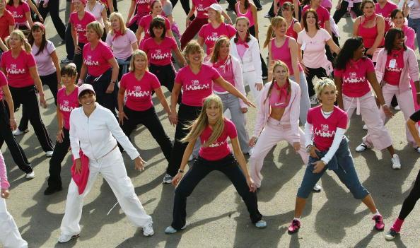 Breast「Pink Aerobics In Regents Park」:写真・画像(4)[壁紙.com]