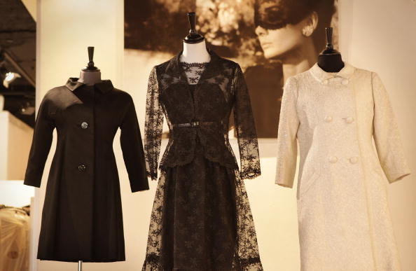Givenchy「Dresses Worn By Audrey Hepburn Are Displayed Ahead Of Their Auction」:写真・画像(2)[壁紙.com]