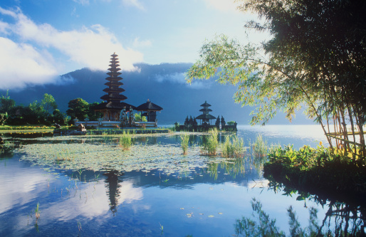 Temple「Pura Ulun Danu temple at Lake Bratan」:スマホ壁紙(0)