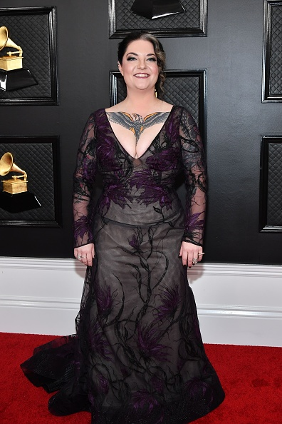 Embroidery「62nd Annual GRAMMY Awards - Arrivals」:写真・画像(19)[壁紙.com]