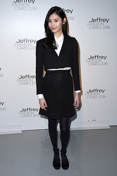 Knitted「Jeffrey Fashion Cares 13th Annual Fashion Fundraiser - Arrivals」:写真・画像(7)[壁紙.com]
