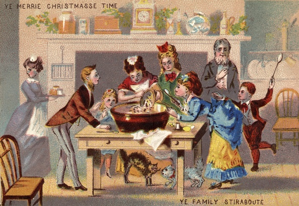 19th Century Style「Christmas Pudding」:写真・画像(8)[壁紙.com]