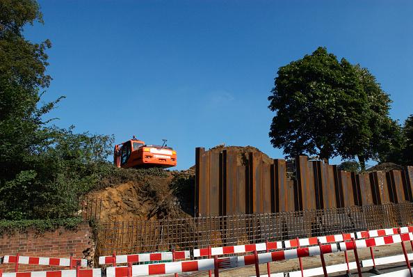 Copy Space「Repair of a bankside erosion, Ipswich, United Kingdom」:写真・画像(15)[壁紙.com]