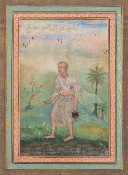 Jain Ascetic Walking Along A Riverbank:ニュース(壁紙.com)