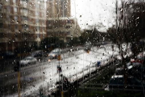 Rain「Rainy day apartments」:スマホ壁紙(7)