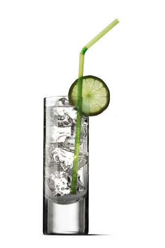 Tonic Water「Drinks: Soda and Lime Isolated on White Background」:スマホ壁紙(4)