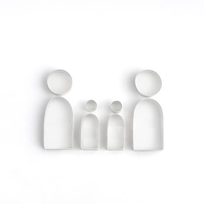 Paper Craft「Origami family」:スマホ壁紙(13)