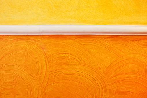 朗らか「カイメンペイントされた壁」:スマホ壁紙(18)
