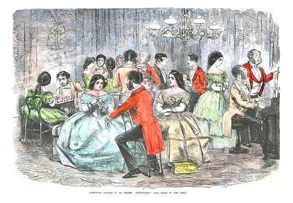 19th Century「Foxhunters Regaling In The Present Degenerate Days」:写真・画像(18)[壁紙.com]