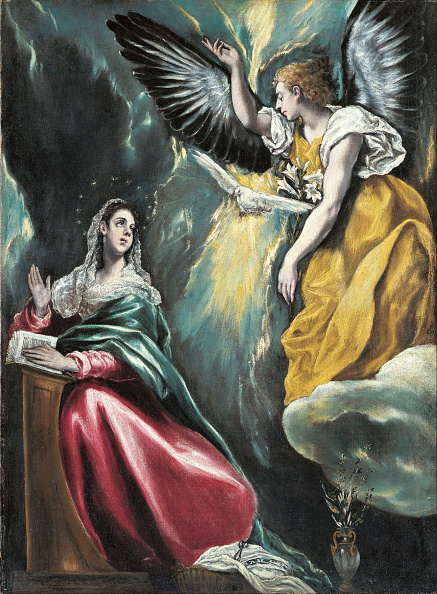 New Testament「The Annunciation Ca 1596-1600」:写真・画像(5)[壁紙.com]