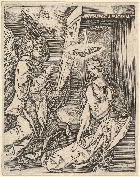 Virgin Mary「The Annunciation; On The Left The Archangel Gabriel Approaches The Praying Virgin」:写真・画像(11)[壁紙.com]