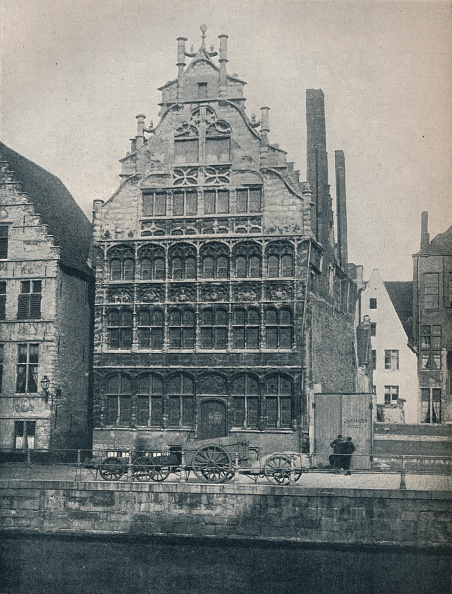 Architectural Feature「Hall Of The Watermen`S Guild, Ghent, Belgium, c.1900 (1914-1915).」:写真・画像(14)[壁紙.com]