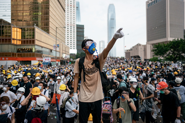 Protest「Hong Kongers Protest Over China Extradition Law」:写真・画像(0)[壁紙.com]