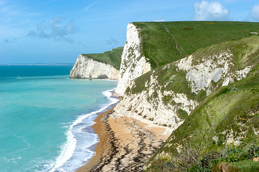 Limestone「Durdle Door, Lulworth Cove, Dorset, UK」:スマホ壁紙(0)