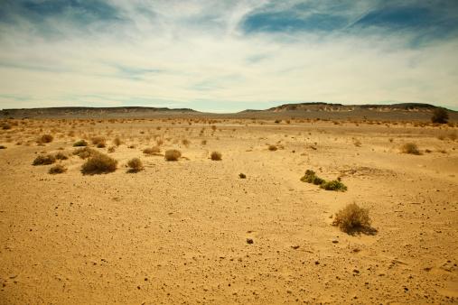 Desert「Distant mountain range in Libyan Sahara desert」:スマホ壁紙(13)