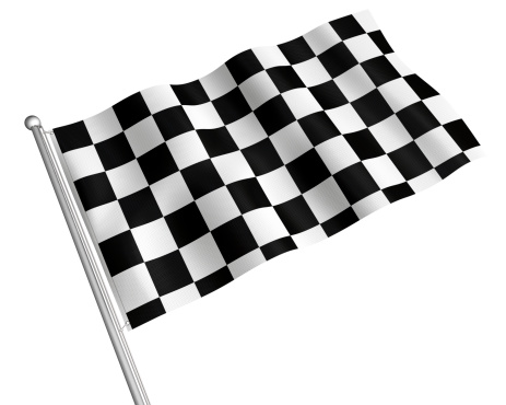 Sports Flag「Checkered flag」:スマホ壁紙(17)
