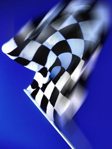 Sports Flag「Checkered flag waving」:スマホ壁紙(7)