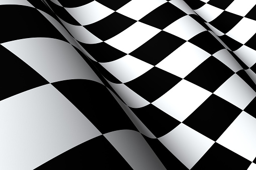 Sports Flag「Checkered Flag Macro」:スマホ壁紙(0)