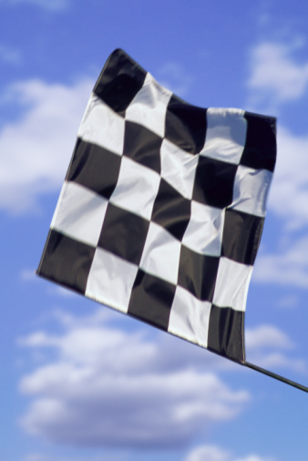 Sports Flag「Checkered flag signalling finish」:スマホ壁紙(7)