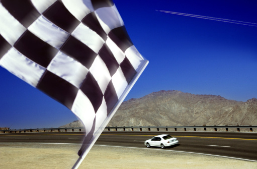 Sports Flag「Checkered flag」:スマホ壁紙(8)