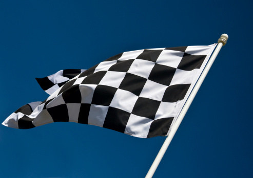 Sports Flag「Checkered Flag」:スマホ壁紙(7)