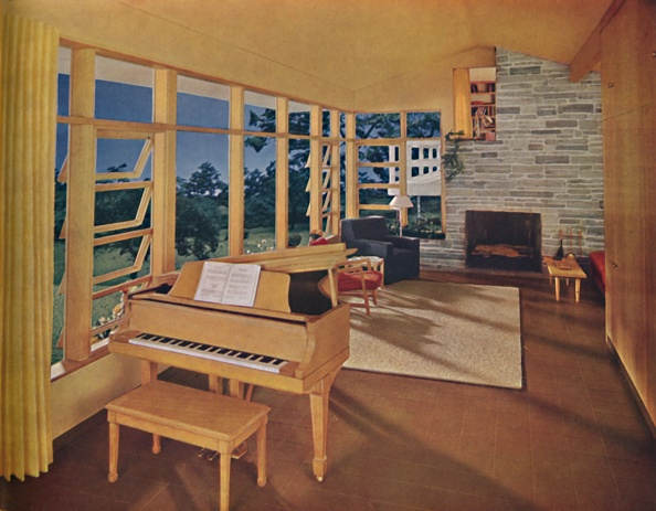 Rug「Scale Model Of A Large Living-Room (25 Feet Long) In A Modern House」:写真・画像(7)[壁紙.com]