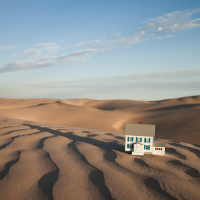 Remote Location「Scale model home in desert」:スマホ壁紙(13)