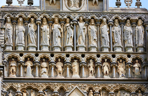 Decoration「Statues of the apostles on Wells Cathedral」:スマホ壁紙(13)