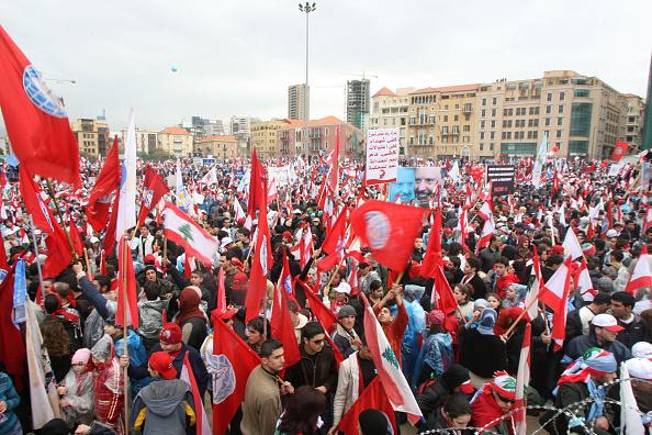 Support「Lebanon Marks Anniversary of Hariri Assassination」:写真・画像(7)[壁紙.com]