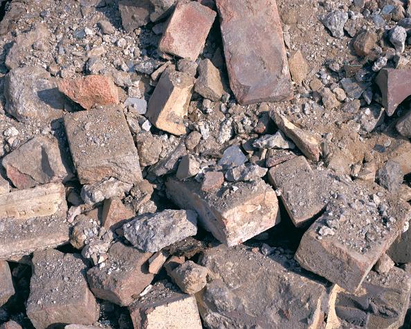 Brick Wall「Detail of brick rubble」:写真・画像(7)[壁紙.com]