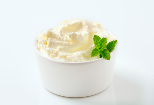 Sweet Food「sweet cream cheese in a bowl」:スマホ壁紙(10)