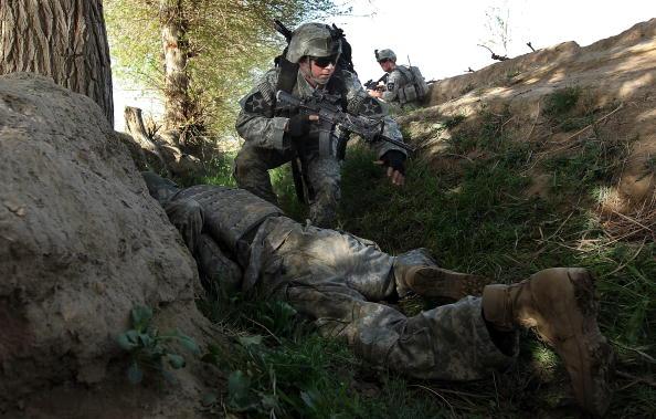 John Moore「U.S. Army Conducts Operations in Kandahar Province」:写真・画像(1)[壁紙.com]
