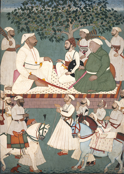 Artist's Palette「Maharaja Sidh Sen Receiving An Embassy」:写真・画像(8)[壁紙.com]
