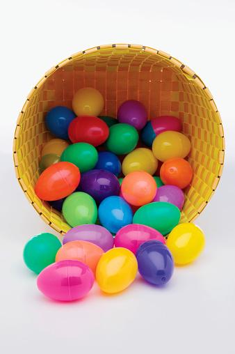 Easter Basket「Spilled Easter egg basket」:スマホ壁紙(11)