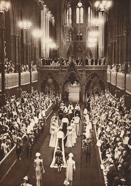 Bench「'The Procession Into The Abbey', 1937」:写真・画像(12)[壁紙.com]