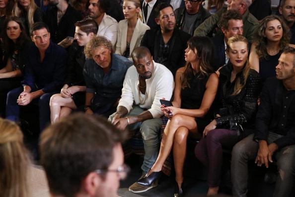 Kanye West - Musician「Diesel Black Gold - Front Row - Mercedes-Benz Fashion Week Spring 2014」:写真・画像(17)[壁紙.com]