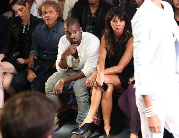 Kanye West - Musician「Diesel Black Gold - Front Row - Mercedes-Benz Fashion Week Spring 2014」:写真・画像(19)[壁紙.com]