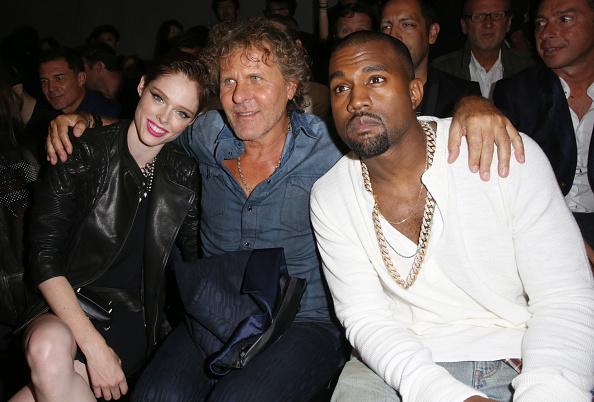 Kanye West - Musician「Diesel Black Gold - Front Row - Mercedes-Benz Fashion Week Spring 2014」:写真・画像(14)[壁紙.com]