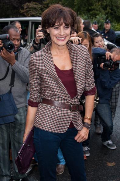 春「Chanel: Outside Arrivals - Paris Fashion Week Womenswear Spring / Summer 2013」:写真・画像(6)[壁紙.com]