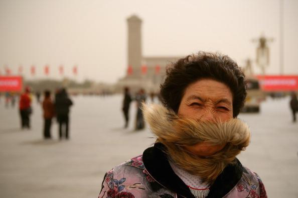 Environmental Damage「Sandstorm Attacks Beijing」:写真・画像(3)[壁紙.com]