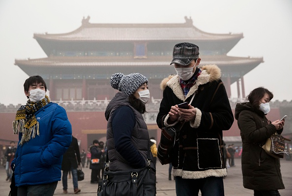 Pollution「Beijing Blanketed In Heavy Smog」:写真・画像(18)[壁紙.com]