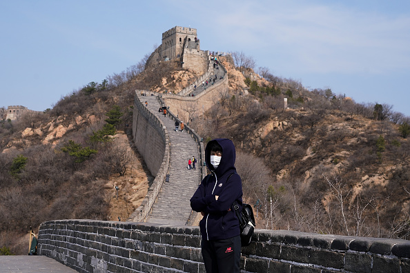 Sparse「China Opens The Great Wall To Tourists As Global Coronavirus Cases Climb」:写真・画像(19)[壁紙.com]