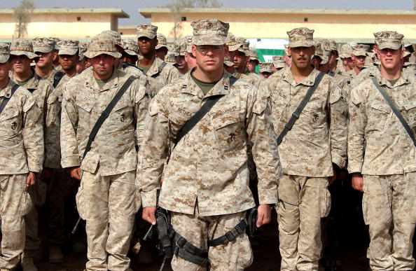 John F「U.S Marines anticipating the final offensive on Fallujah」:写真・画像(1)[壁紙.com]
